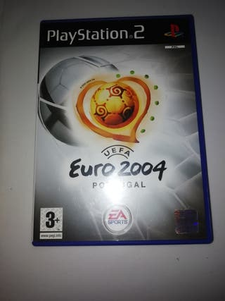 Juego Uefa Euro 2004 PlayStation 2