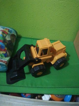 tractor niño