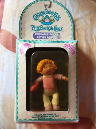 Antigua figura articulada Cabbage patch kids