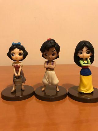 Lote figuras Disney Q Posket mini