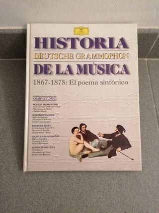 """LIBRO + CD """"EL POEMA SINFÓNICO"""" HISTORIA DE LA MÚS"""