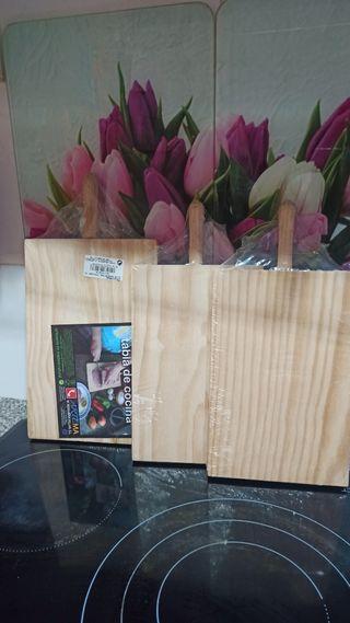 3 tablas de cortar