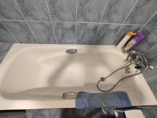 bañera nueva
