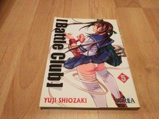 Battle club tomo 5 manga