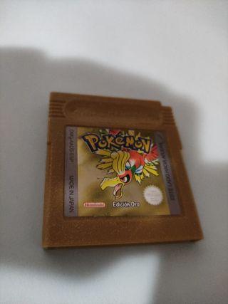 Pokemon Oro Game boy color solo cartucho