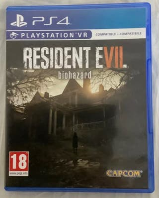 RESIDENT EVIL 7 PS4 VII BIOHAZARD