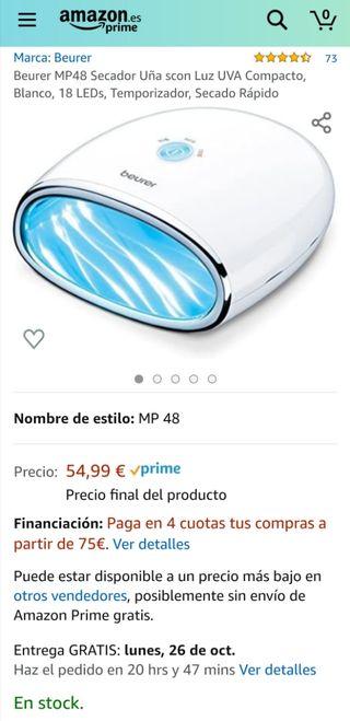 Beurer MP48 Secador Uñas