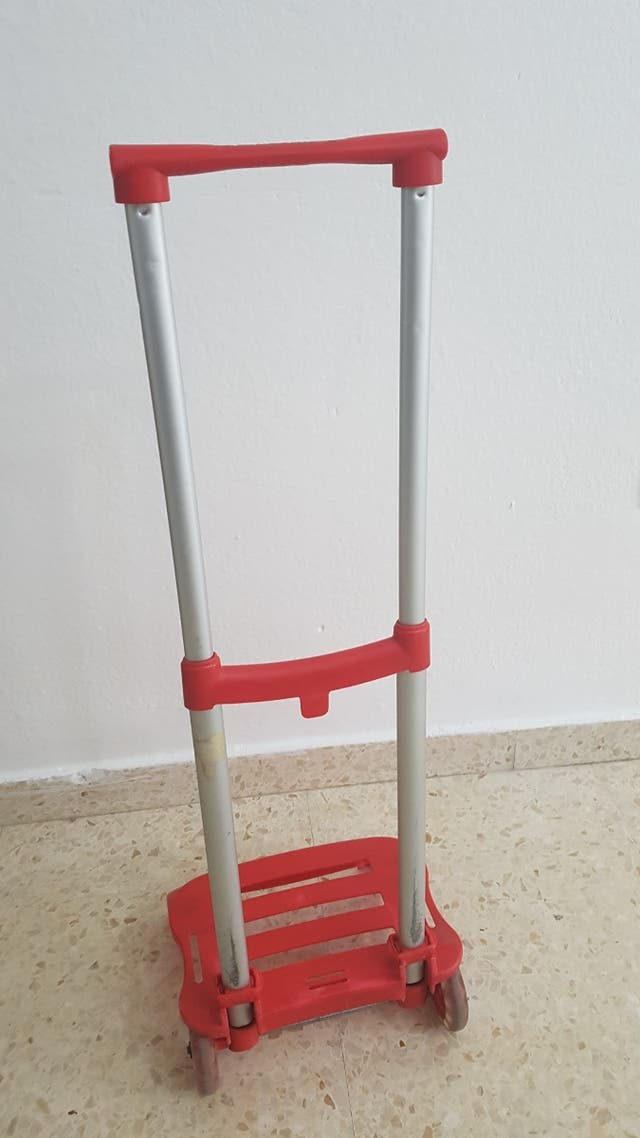 carrito porta mochila
