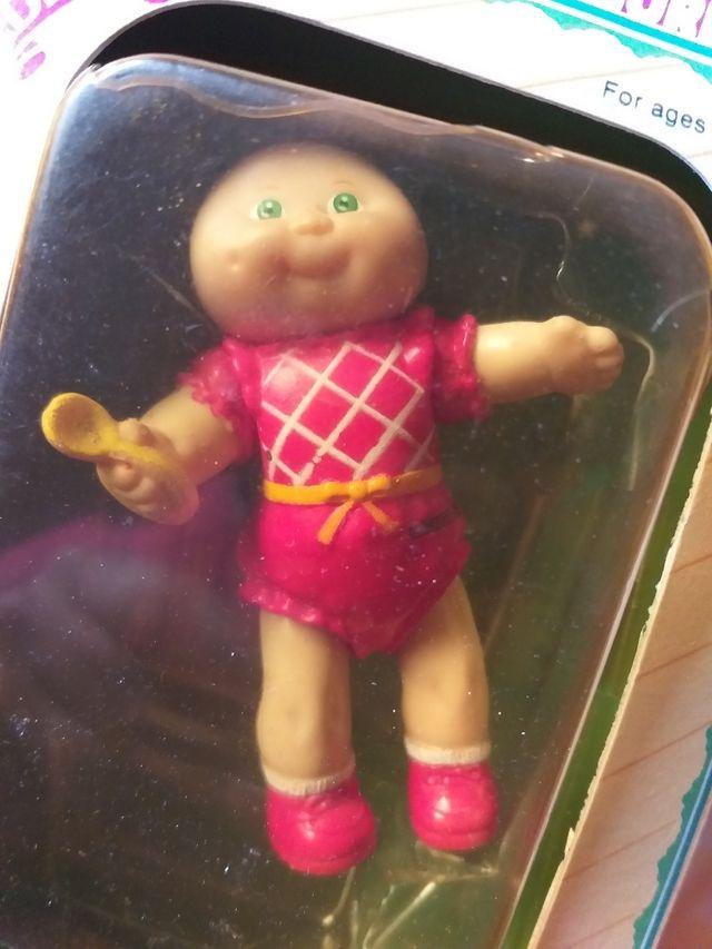 Antigua figura articulada Cabbage patch kids