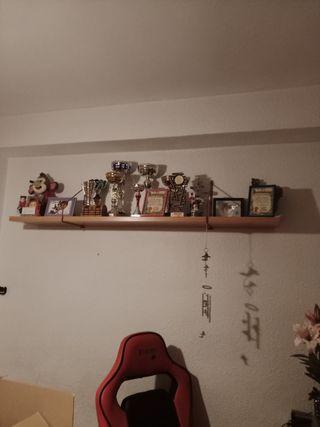 cama nido,más estanterias