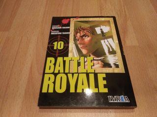 Battle Royal tomo 10 manga