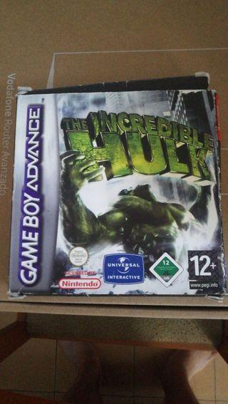 The Incredible Hulk GBA