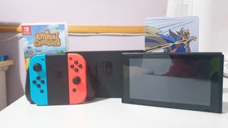 Nintendo Switch + Pokemon espada y Animal crossing