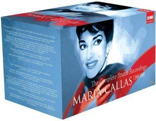 MARÍA CALLAS 70 CD Complete Studio Caja precintada