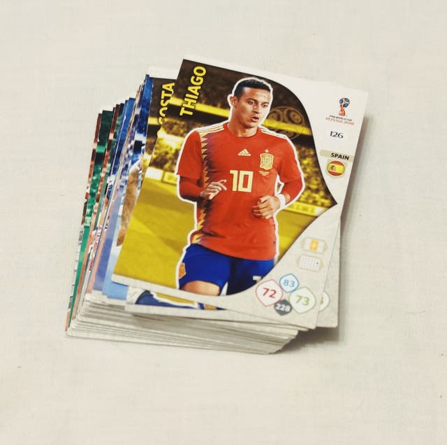 Cromos Trading Cards FIFA World Cup Russia 2018.