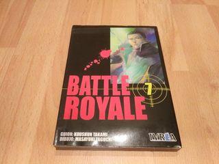 Battle Royal tomo 7 manga