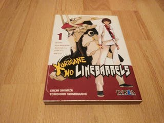 Kurogane no linebarrels tomo 1 manga