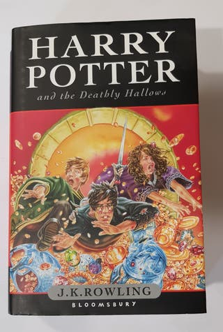 J K Rowling. Harry Potter and the deathly hallows