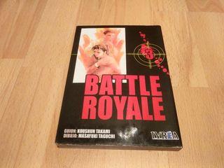 Battle Royal tomo 3 Manga