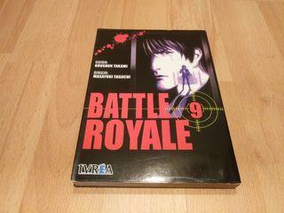 Battle Royal tomo 9 manga