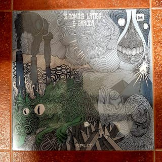 BLOOMING LÁTIGO & GARÜDA -Split- LP Vinilo
