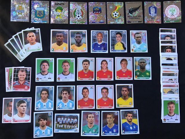 Lote de 90 cromos - MUNDIAL SUDAFRICA 2010