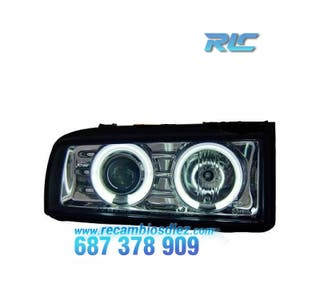 FAROS VW CORRADO ANGEL EYES CCFL CROMO