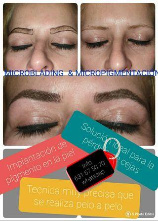 Microblading & Micropigmentación