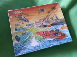Puzzle Gijoe MB Años 80