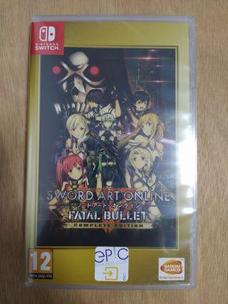 [NUEVO] Sword Art Online Fatal Bullet Switch