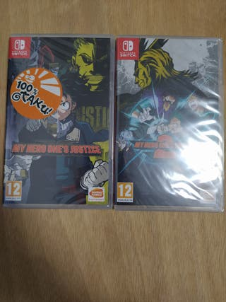 [NUEVO] Pack My Hero One's Justice 1 y 2 Switch
