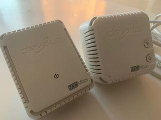 Amplificador Wifi Kit Devolo 500 dLan Adaptador