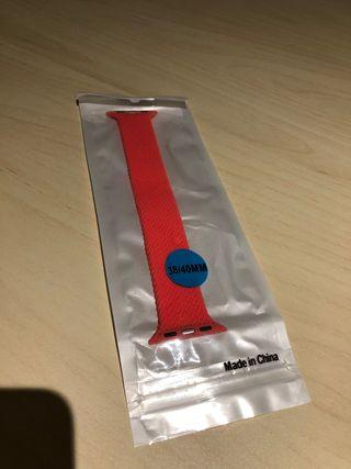 Correa Rosa solo loop Apple Watch 38/40mm