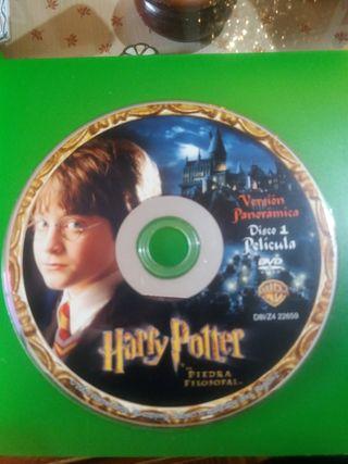 DOS DVD DE HARRY POTTER