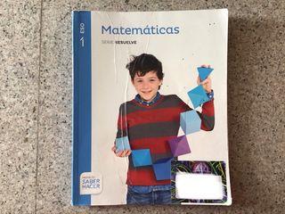 Libro de matemáticas de 1 eso santillana