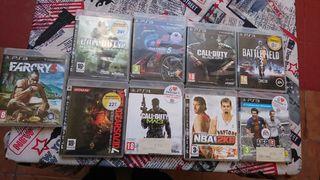 Lote de juegos PSP 3