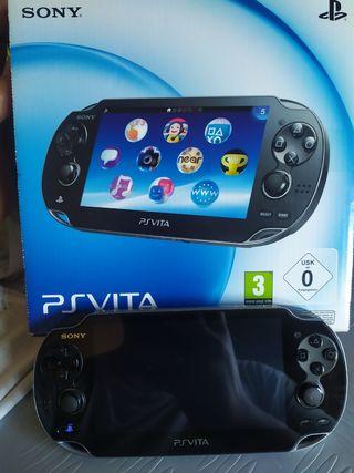 consola PS Vita con caja