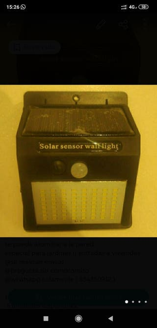 jardin sensor de luz ( solar )