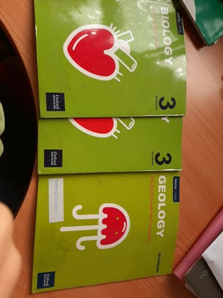 Libros Biology & Geology 3 ESO