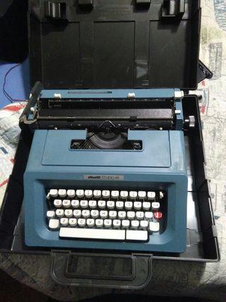 maquina de escribir olivetti studio 21