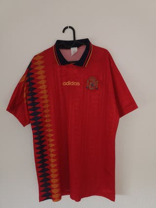camiseta antigua selección española de fútbol