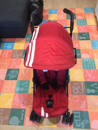 Carrito bebe niño niña Mini Easywalker rojo