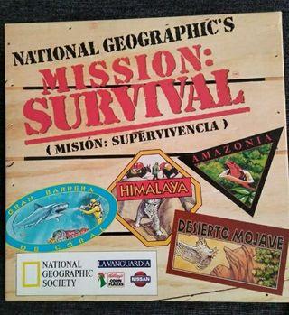 Juego de mesa Mission Survival. A ESTRENAR!!