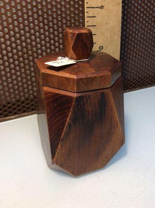 Recipiente madera vintage