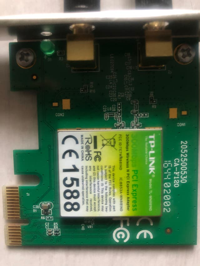 Wifi PCI-express adapter 300mkps wireless wifi