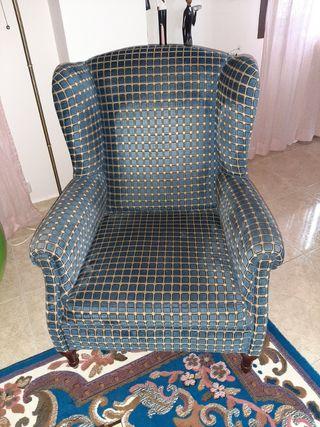 sillón orejero