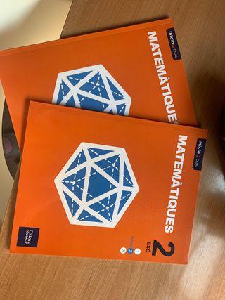 Libro matemáticas 2 eso oxford