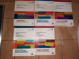 libros obtencion graduado ESO
