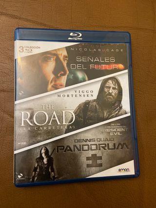 Pack de tres películas