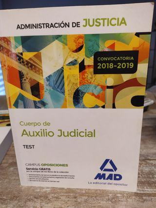 curso de cuerpo de auxilio judicial